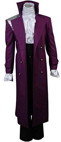 (Purple Rain Prince Rogers Nelson Cosplay Costume Full Set (M,)