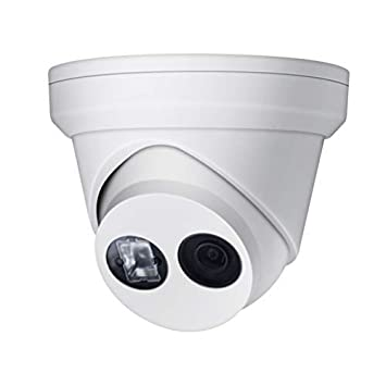 8MP 4K UltraHD Outdoor Security POE IP Camera OEM DS-2CD2385FWD-I 2.8mm, EXIR 98ft Night Vision,2.8mm Fixed Lens Turret Camera, Smart H.265 , SD Card Slot, WDR,DNR, IP67, ONVIF Support Update