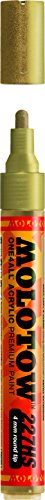 One4All Acrylic Paint Markers 4 mm metallic gold 228
