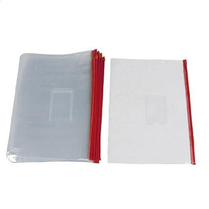 20 us Rojo Claro tamaño de papel A4 deslizante Ziploc ...