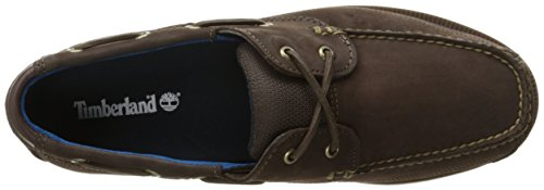 Pictures of Timberland Men's Piper Cove Fg Boat TB0A1G8CD47 Chocolate Chamois 2