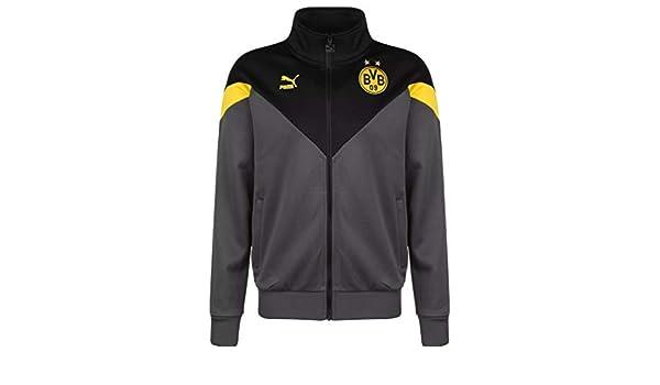 Puma Borussia Dortmund Iconic MCS - Chaqueta deportiva: Amazon.es ...