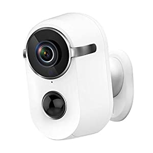 Flashandfocus.com 31%2BvDoq2gyL._SS300_ Security Camera Outdoor Wireless, Pikkey 10000mAh Rechargeable Battery Security Camera WiFi, Wireless Outdoor Camera…