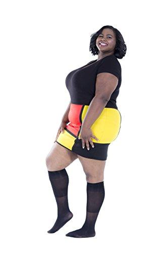Zaftig Womens Plus Size Opaque Nylon Trouser Socks