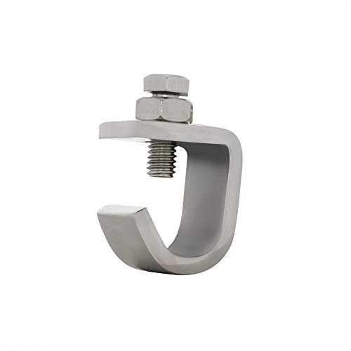 United Pacific 86052 Stainless Steel Bumper Guide Clamp