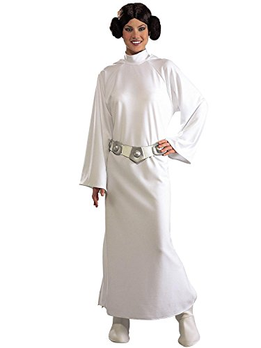 Rubie's Women's Star Wars Princess Leia Deluxe Costume, One -