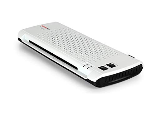 A4 Laminator Thermal and Cold Laminating Machine with 4 Roller System for Documents Papers Photos Anti-Jam No Bubbles