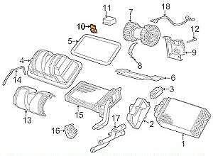 GTV INVESTMENT 3 Z3 E36 E30 Z8 E52 A//C Heater Blower Motor Resistor 64116912633 6912633 NEW