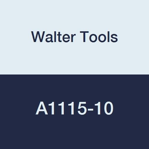 89 mm Overall Length 34 mm Extension Length Walter Tools A1115-10 10 mm HSS NC Spot Drill 5 mm Length of Cut