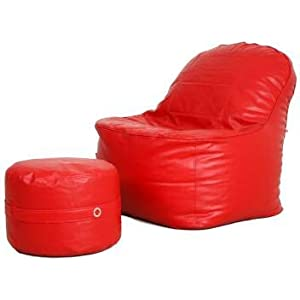 Best Luxury Bean Bag Lounge Chair with Cover Footrest India 2021