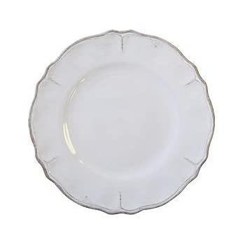 Le Cadeaux Rustica Antique White - Melamine Salad Plates - Set of 8  sc 1 st  Amazon.com & Amazon.com | Le Cadeaux Rustica Antique White - Melamine Dinner ...