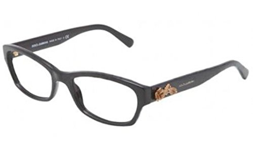 Dolce and Gabbana Glasses 3150 501 Black 3150 Cats Eyes - Gabbana Baroque And Dolce