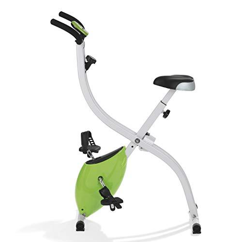 VITALmaxx Hometrainer, fitnessfiets, fitnesstrainer sportapparaat, ideale cardiotrainer met trainingscomputer, 8…