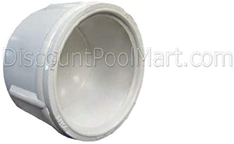 Schedule 80 1//2 Thread x Thread Inland Seas PVC Bulkhead Tank Adapter Gray