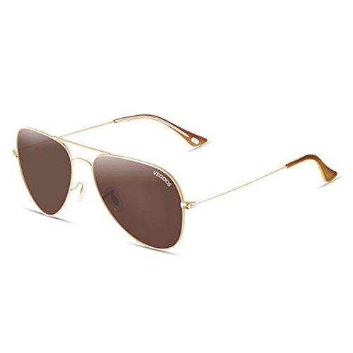 al sol que las gafas gafas de espejo los conducen hombres libre gafas rana Los polarizador aire de de hombres de D qgxpTzX