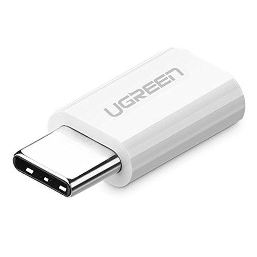 UGREEN USB-C to Micro USB Adapter (White) - 3