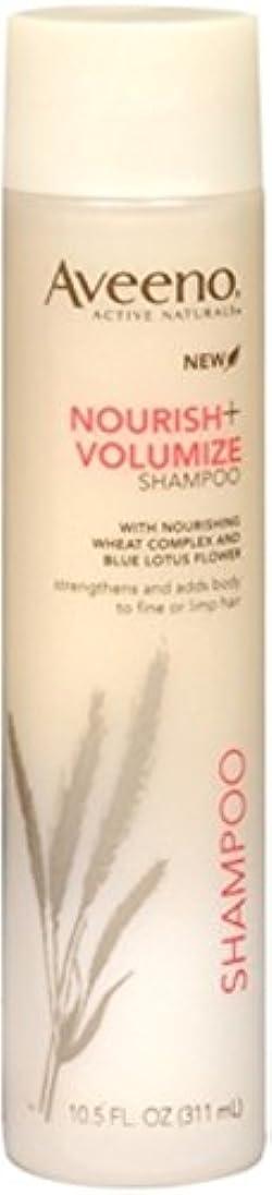 Aveeno Nourish+ Volumize Lightweight Shampoo, 10.5 Fl. Oz