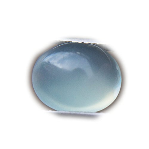 Lovemom 4.79ct Natural Cabochon Unheated Blue Chalcedony Africa #W by Lovemom