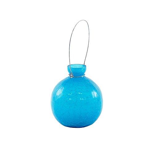 Achla Designs SV-03T Goblet, Teal Hanging Glass Flower Planter/Rooting Vase
