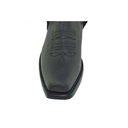Negro und 42 515 Loblan Stiefeletten Herren Ankle 515 Biker LOBLAN Damen 42 stiefe Westernstiefel schwarz Boots Größe dYPwqnExS