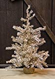 Small Antique Silver Pine Tree