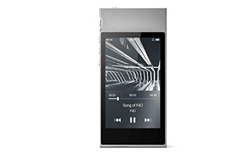 FiiO M7 High Resolution Lossless Music Player with aptX, aptX HD, LDAC HiFi Bluetooth, FM Radio and Full Touch Screen (Silver) ...