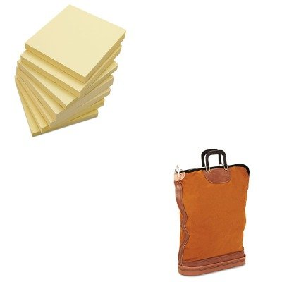 KITPMC04645UNV35668 - Value Kit - Pm Company Regulation Post Office Security Mail Bag (PMC04645) and Universal Standard Self-Stick Notes (UNV35668) ()