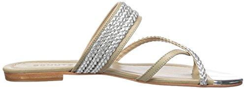 Schutz US Braid Jungle M Silver Sandal Women's 6 Or8qwOC