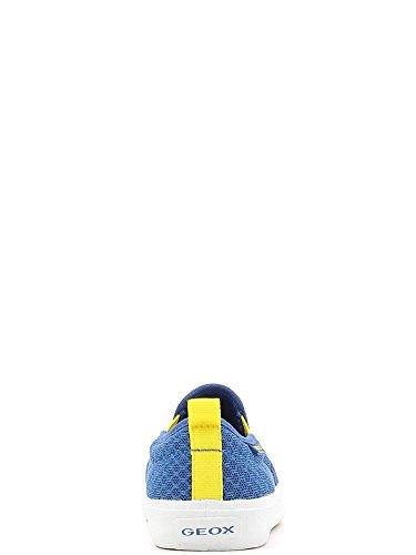 Geox Jr Kiwi Boy B - Zapatos primeros pasos para bebés Royal/Yellow
