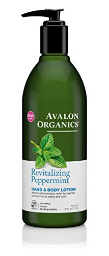 Avalon Organics Lotion Revitalizing Peppermint product image