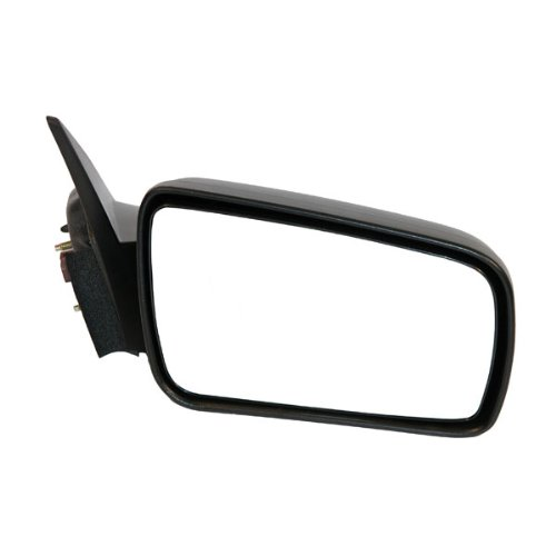 2005-2009 Ford Mustang (also Fits GT) Power Without Heat Smooth Black Fixed Non-Folding Non-Heated Rear View Mirror Right Passenger Side (2005 05 2006 06 2007 07 2008 08 2009 09) - Gt Side View Power Mirror
