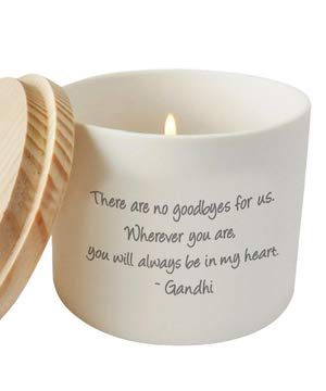 Cherished Memorial and Missing You Candle Holder or Jar | Sympathy Gift | Thinking of You | Bereavement Gift ()