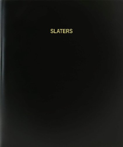 BookFactory® Slaters Log Book / Journal / Logbook - 120 Page, 8.5