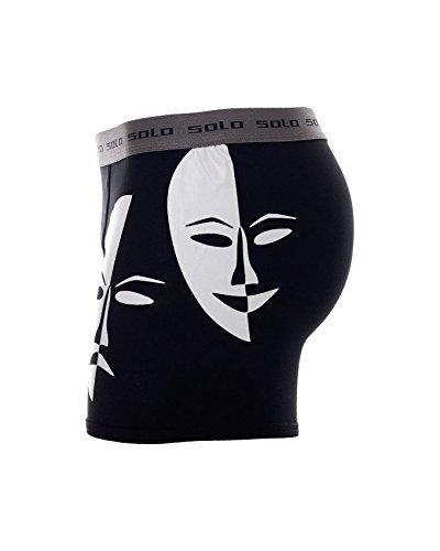 Attraktive Solo Herren Boxershorts 4 U- Cotton Stretch, Trend und Komfortable Boxershorts von Solo® Underwear - Fühle dich rundum bequem und stylisch mit Solo® Herren Unterwäsche.