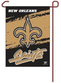WinCraft NFL New Orleans Saints WCR08375013 Garden Flag, 11'' x 15'' by WinCraft