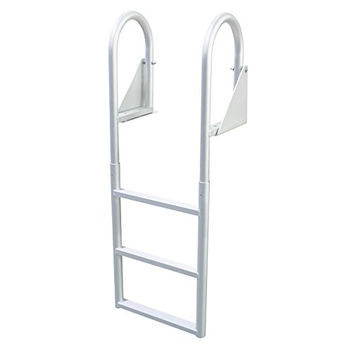 Extreme Max 3005.3470 Flip-Up Dock Ladder, 3 Step (3 Step Dock Ladder)