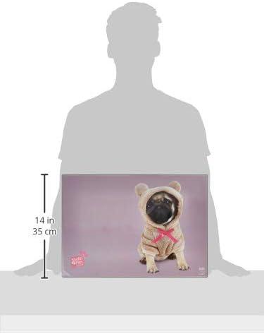 Erik/® Studio Pets Dogs Desk Mat 34 x 49 cm