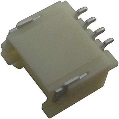 Pack of 50 Wire-To-Board Connector 501953-0407 501953-0407 Header 1 Rows 4 Contacts Surface Mount 1 mm Pico-Clasp 501953 Series