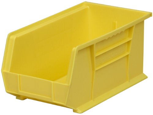 Akro-Mils 30240 Plastic Storage Stacking Hanging Akro Bin, 15-Inch by 8-Inch by 7-Inch, Yellow, Case of 12