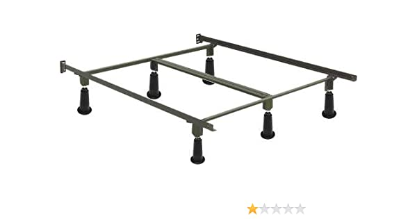 Amazon Com Hospitality Bed High Rise Bolt On Bed Frame King Size