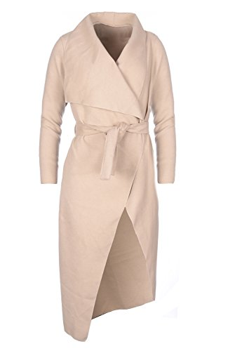 Trenchcoat Court One Beige Femme Collection Kendindza Size Long Manteaux B01tWwFq