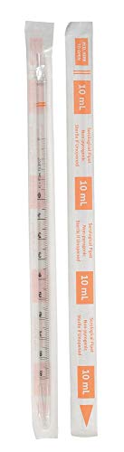 Lab Safety 10mL Pipet, Individually Wrap/Bag, PK200 - 11L808
