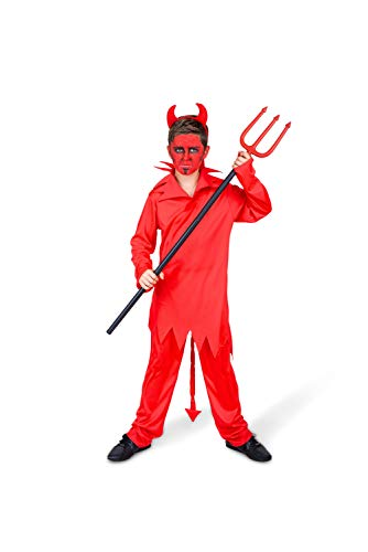 Boy's Red Devil Costume - for Halloween Costume Party Accessory - ()