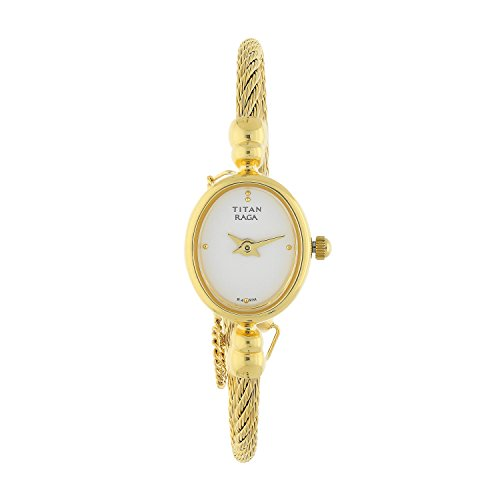 Titan Women's 197YM04 Raga Inspired Gold Tone Watch ()