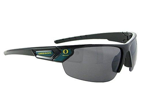 Oregon Ducks Black Green Sport Sunglasses UO LIcensed Gift Mens Womens - Sunglasses Oregon Ducks