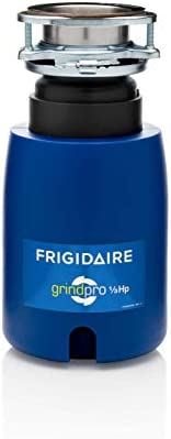 Frigidaire FFDI331DMS GrindPro 1 3 HP Direct Wired Continuous Feed Waste Disposer, Classic Blue
