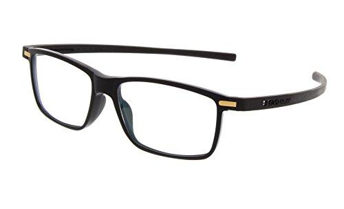 Tag Heuer Eyeglasses 3951 011 Reflex 3 Black Gold 3951-011