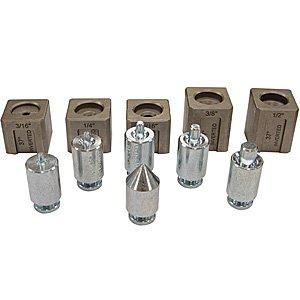 MASTERCOOL (71098 Silver 37 Degree Hydraulic Flaring Tool Adapter Set