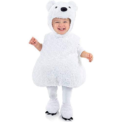 Underwraps Carnival Corp. - Polar Bear Toddler/ Child Costume - Large ()