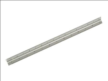 Faithfull RULETRI 300mm Aluminium Rule Triangle